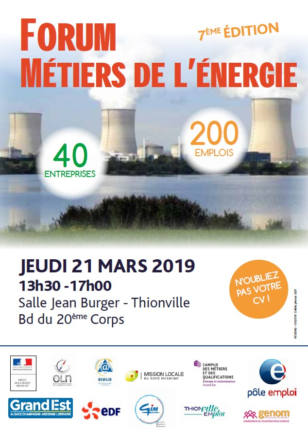 Forum des métiers de l'énergie @ Thionville